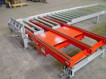 chain conveyor for pallet transfer TFC 100-3 MARCEAU