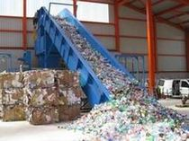 chain drive belt conveyor  BOA Recycling GmbH