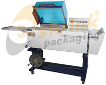 chamber shrink wrapping machine 250 x 600  mm | LB-503 E-shrink packaging machinery company limited