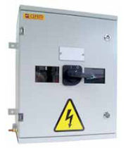 changeover switch in enclosure 80 - 1250 A cefem