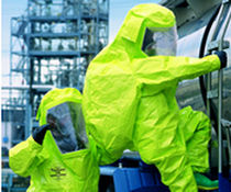 chemical protective clothing: suit  Dupont