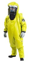 chemical protective clothing: suit with boot covers Splash 2000 Trelleborg Protective