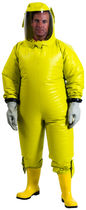 chemical protective clothing: suit with powered air-purifying respirator (PAPR) Splash 2000P Trelleborg Protective