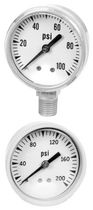 chemical resistant Bourdon tube pressure gauge 15 - 300 psi | P590 AMETEK U.S. GAUGE