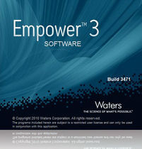 chromatography software EMPOWER&amp;trade; 3 Shimadzu Europe