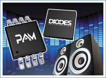 class-D audio amplifier integrated circuit 2.5 - 26 V, 4 - 30 mA | PAM series Diodes Incorporated