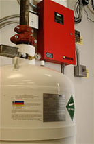 clean agent fire extinguishing system HFC-227ea, FM-200 Fike