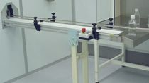 clean room conveyor system ISO-Cleanroom class 6 - 9 Schilling Engineering GmbH