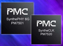 clock synthesizer  PMC Sierra