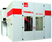 CNC 7-axis horizontal machining center for die and mold max. 2000 x 1200 x 800 mm | HF 1212 TRIMILL A.S.