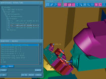 CNC machining simulation software NC SIMULATOR TEBIS