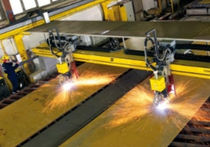 CNC plasma and oxyacetylene cutting machine max. 40 000 mm/min | SUPRAREX™ SXE BIG  ESAB