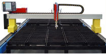 CNC plasma cutting machine 2.5 x 5 m | HBBIII-3000X6000 DALIAN HONEYBEE CNC EQUIPMENT