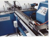 CNC punching machine for tubes and profiles TUBYDRO 150 - HYDROÏL MINGORI - HYDROÏL