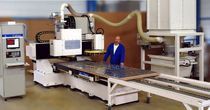 CNC router for aluminum sheets (aeronautical industry) max. 1000 x 3000 x 15 mm | CRENO AERO Le Creneau Industriel