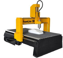"CNC router for foam 8"" x 4"" x 15""   Foamlinx LLC"