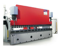 CNC synchronized hydraulic press brake 250 - 630 kN | STP-c series Schiavi