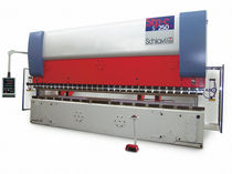 CNC synchronized hydraulic press brake 160 - 250 kN | STP-cs series Schiavi