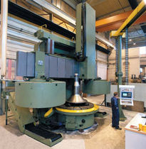 CNC vertical lathe max. ø 6000 mm | VL series WMW Machinery