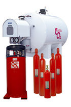 CO2 based fire extinguishing system  ANSUL