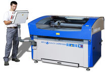 CO2 laser cutting and engraving machine max. 1520 x 1250 x 190 mm | LASPID MECANUMERIC