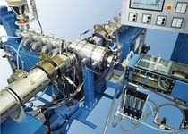 coextrusion line for multi-layer pipes PE, PP, PA, EVOH, PBT, Liant KOMAX