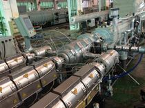 coextrusion line for multi-layer pipes  DEKUMA Rubber and Plastic Technology Ltd.