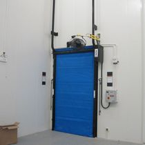 cold storage roll-up door max. 3 048 x 4 876 mm | FasTrax FR Rite Hite