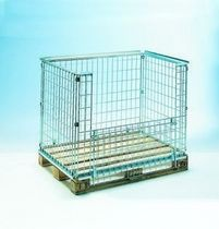 collapsible mesh pallet-box 1 200 X 800 X 600 mm cargopak srl