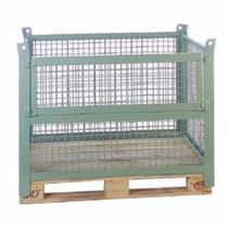 collapsible mesh pallet-box max. 1 000 kg | G151 SABE