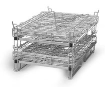 collapsible pallet-box 1240 x 1000 x 1135 mm | G1200AS Italfil