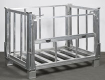 collapsible pallet-box  METALCONSTRUCT Zrt