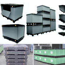 collapsible plastic pallet-box  Eredi Caimi