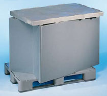 collapsible plastic pallet-box 1 200 x 800 mm | HyBox® Innova Packaging Systems (IPS)