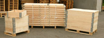 collapsible plywood and steel pallet-box  CAMPIA Imballaggi