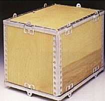 collapsible plywood and steel pallet-box ExPak  STAR PACK