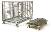 "collapsible wire mesh container max. 40 x 48 x 36 ""  LYON"