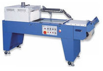 combined L-sealer with shrink tunnel ASW-4050DN American Packaging & Plant Equipment