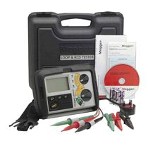 combined loop and RCD tester LRCD200 series  Megger Limited