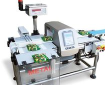 combined solution : metal detector and checkweigher  Grupo Exakta Pack