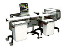 combined solution : metal detector and checkweigher  CO-EL