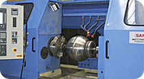 combined turning and grinding center for valve ball max. ø 915 mm, 6 t | BALL MATIC SAFOP