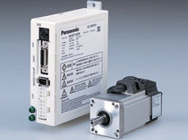 compact AC brushless electric servo-motor E Panasonic Electric Works Corporation of America