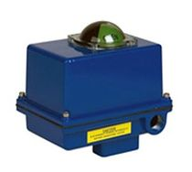 compact electric rotary actuator 100 lb-in | R series Indelac Controls, Inc