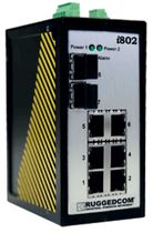 compact industrial managed Ethernet switch 6 port, 10/100BaseTX | i802 RuggedCom
