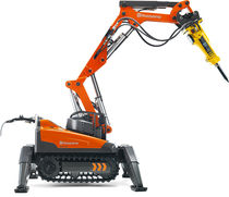 compact remote controlled demolition robot DXR 140 Husqvarna Construction Products