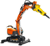 compact remote controlled demolition robot DXR 250 Husqvarna Construction Products