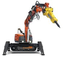 compact remote controlled demolition robot DXR 310 Husqvarna Construction Products