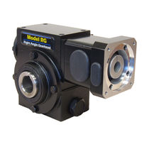 compact right angle worm gear reducer i = 5:1 - 60:1, max. 7 800 lb.in | RG series Cone Drive Gearing Solutions
