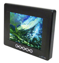 compact rugged sealed LCD monitor 8.4&quot; | TT-840 Stealth Computer